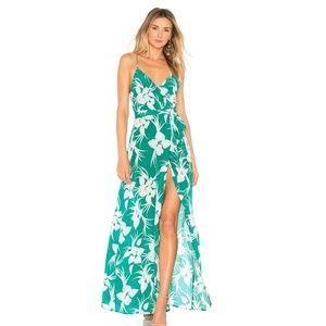 NEW MAJORELLE Cubano Dress Green Small E76
